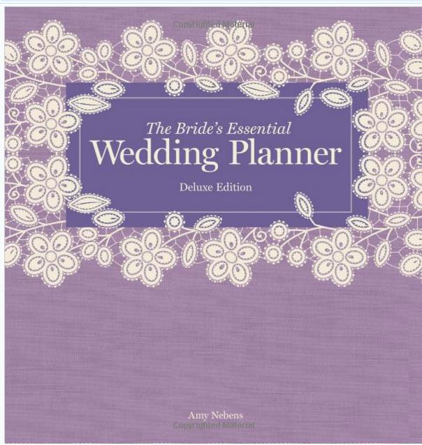 Wedding planner book best planning books for brides junglespirit Images