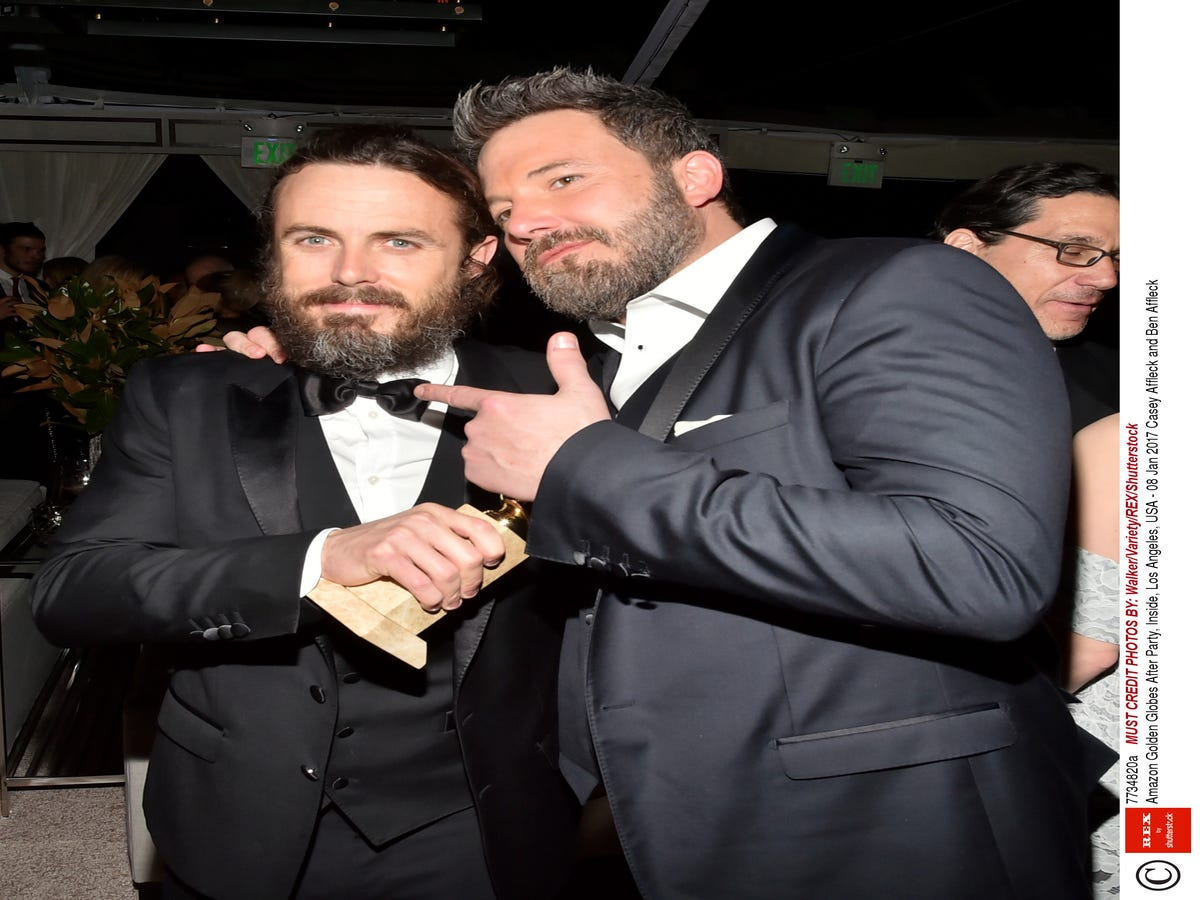 Ben Affleck Was The Proudest Big Brother When Casey Won A Globe