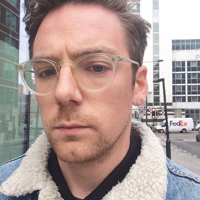 Earring In Left Ear Of Man