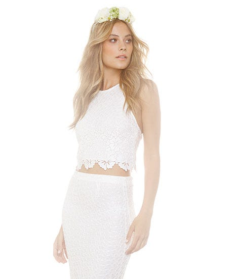 Crop Top Loving Brides Will Be All Over This