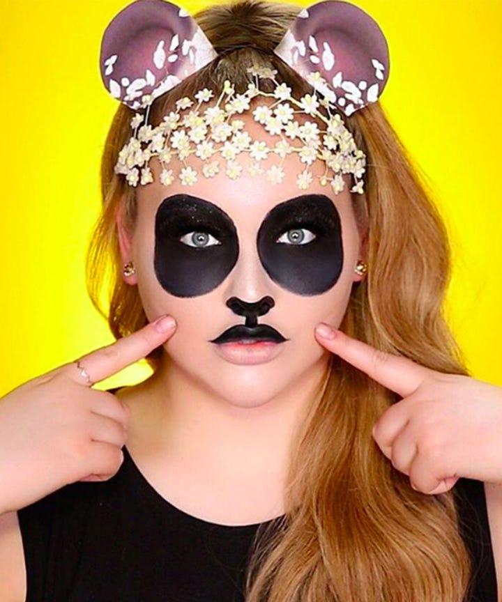 Cool Halloween Makeup Ideas Easy DIY Instagram Photos