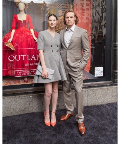Are Outlander Stars Hookup In Real Life