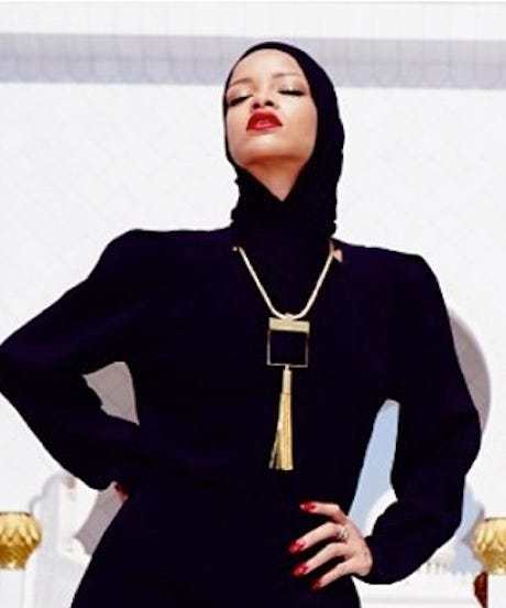 Rihanna Covers Up In Abu Dhabi, Yet Controversy Still Follows