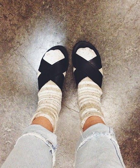10 Instances Where Socks With Sandals Worked In Real Life