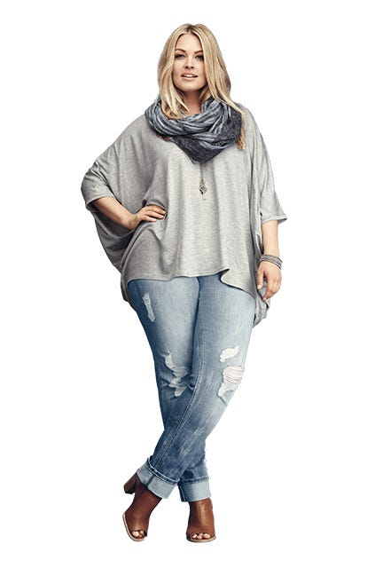 Plus Size Jeans - Flattering Curvy Pant Styles