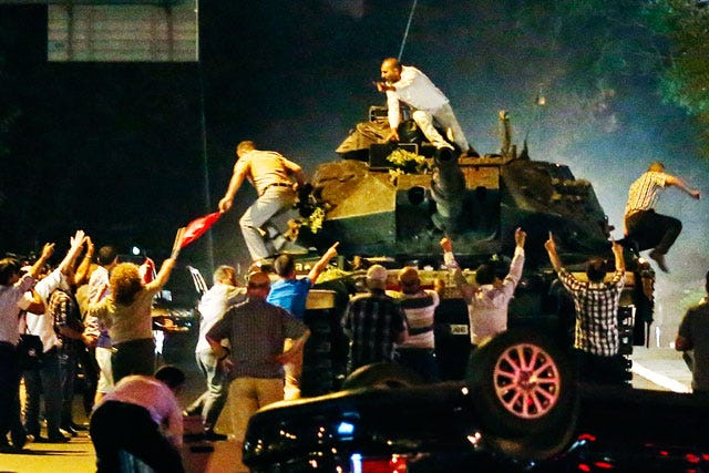 Turkey armed forces says coup neutralised, military at command of state