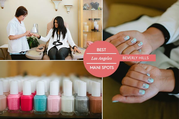 Best nail salon la top mani los angeles beverly hills bellacures indulge in heavenly nail bliss at this bev hills spot thanks to super comfy chairs actual post pedi sandals definitely a luxury prinsesfo Images
