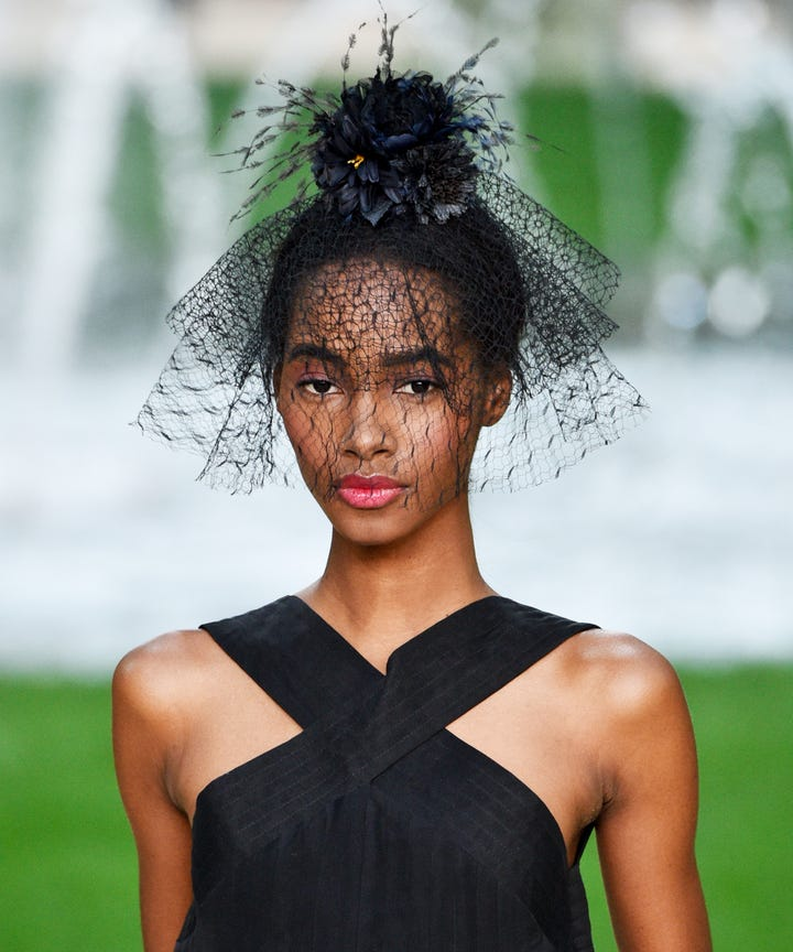 Cool Wedding Hairstyles Spring Chanel Dior - Cool hairstyle pictures