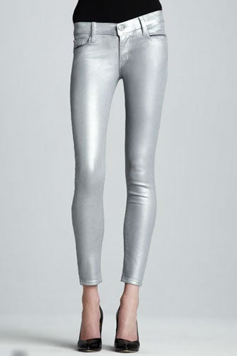 Silver Jeans - Best Metallic Pant Styles For Women