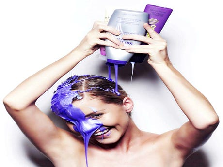 Why People Are Obsessed With Purple Shampoo