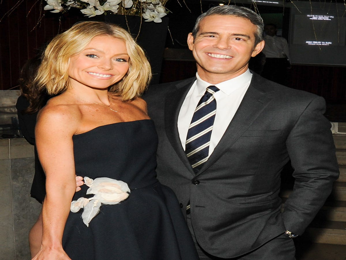 How Kelly Ripa Low-Key Saved Andy Cohen s Life