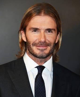 David Beckham House Loreal Launch Hair Skin - David beckham hairstyle names