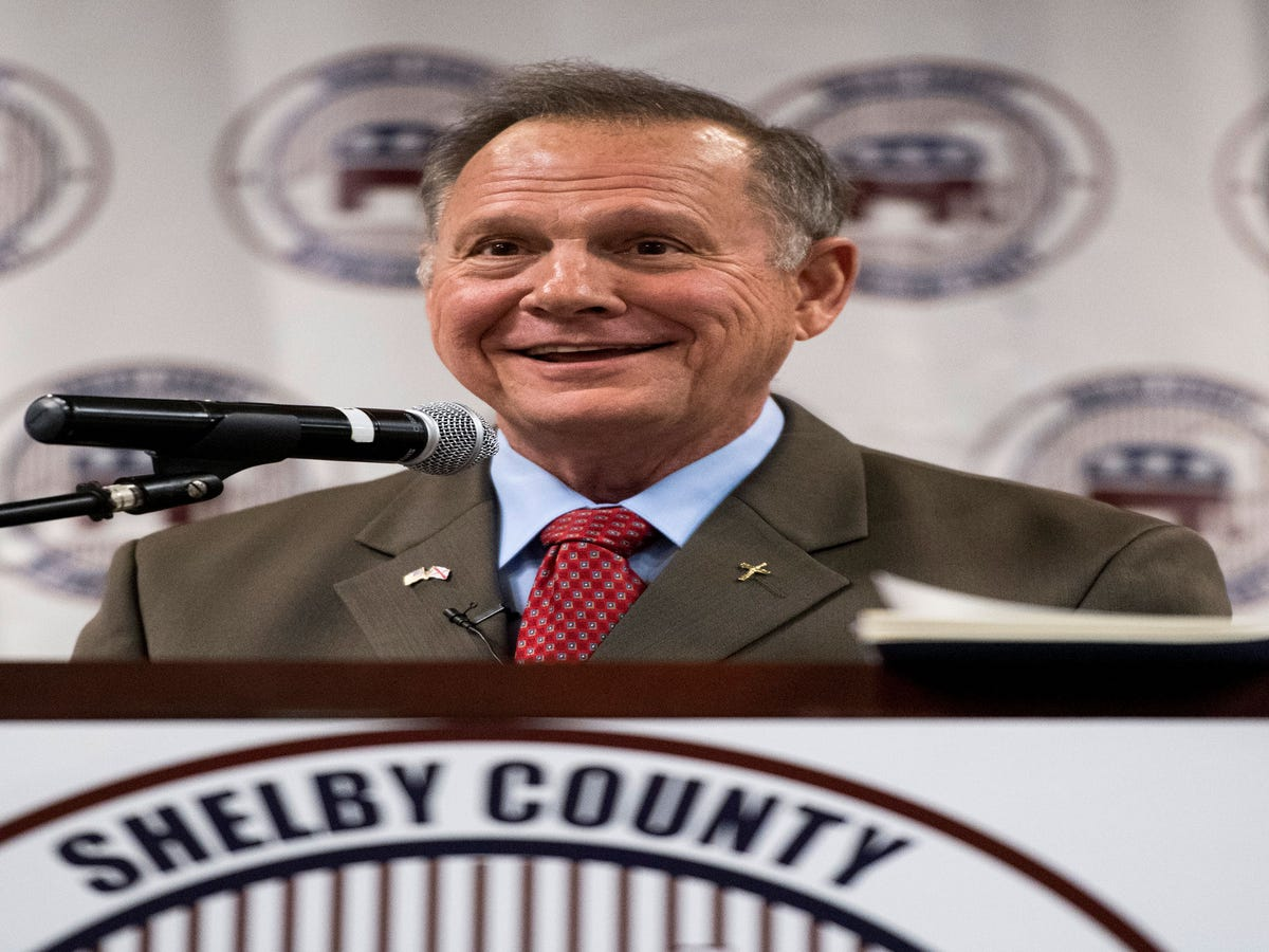 Roy Moore & Luther Strange Will Face Off In Alabama GOP Senate Primary