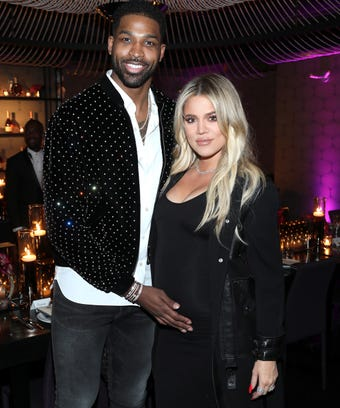Khloe Kardasihan and Tristan Thompson