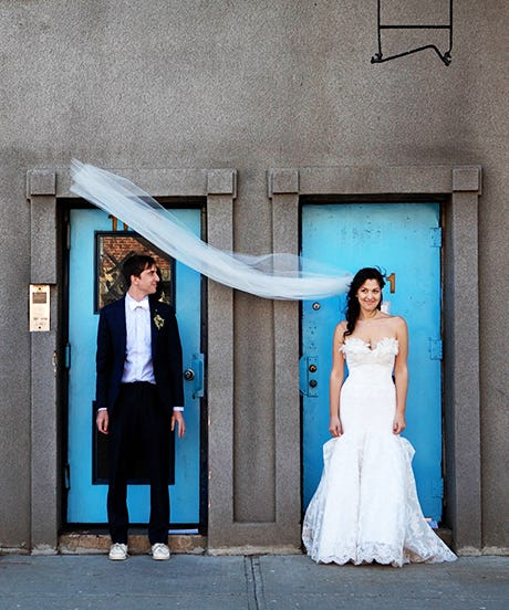 This Intimate Brooklyn Wedding Has Us Feeling Feelings