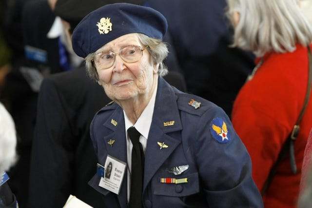 Arlington Cemetery Rights Revoked For Female WWII Pilots