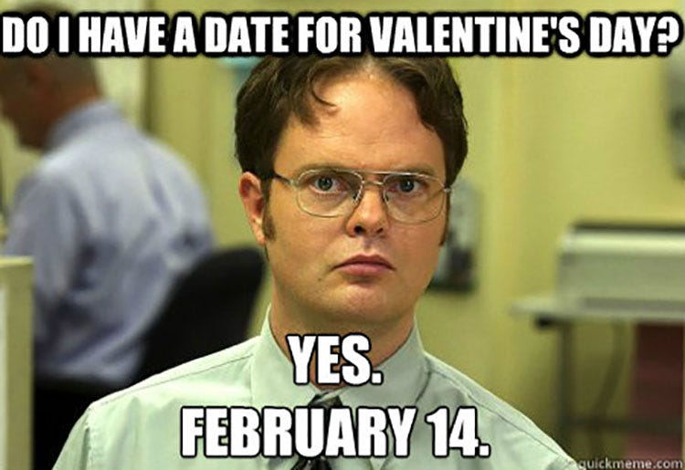 Funny Valentines Gifs For Single Memes – Funny Valentines Day Cards Meme