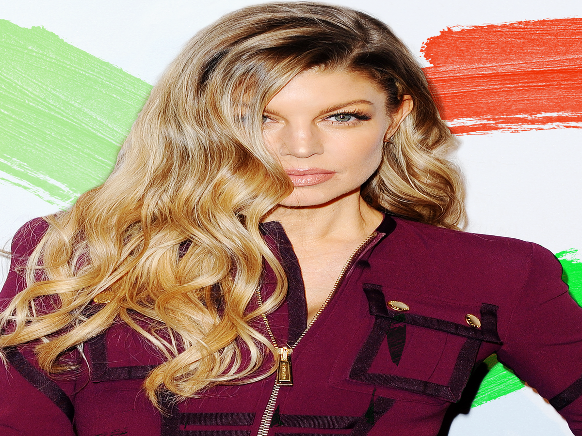 Fergie Just Cut Off 13 Inches Of Her Own Hair — On Camera