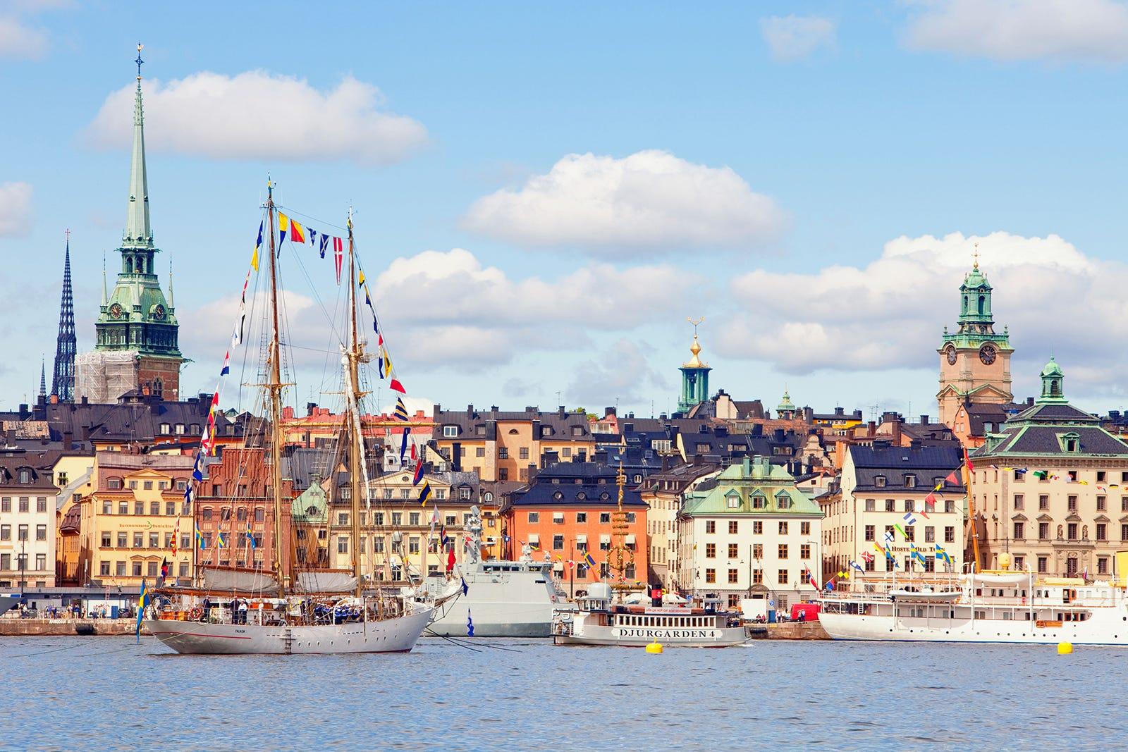 Inilah kota yang selalu disebut sebagai Postcard of Scandinavia, dengan toko-toko dan lingkungan yang mewah, dan surga belanja yang aman | shutterstock