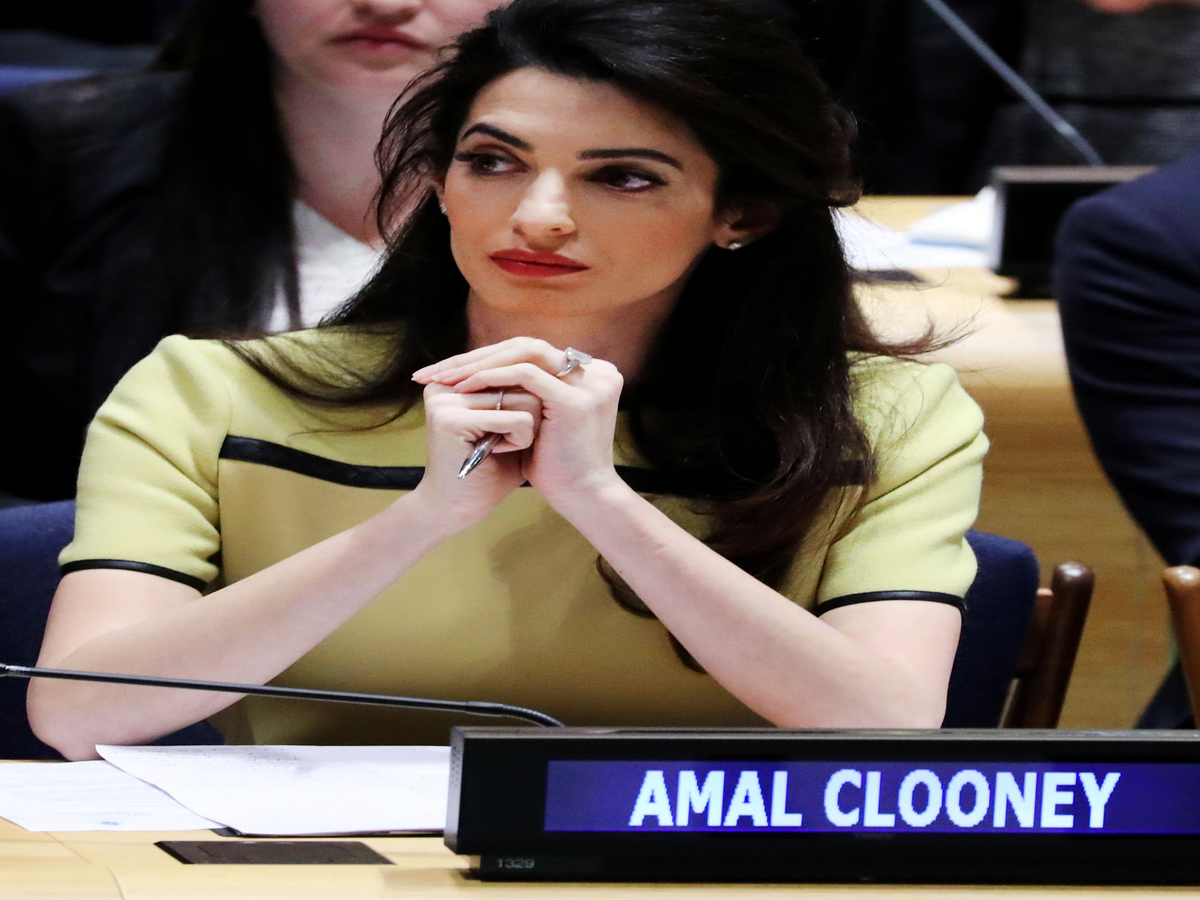 Amal Clooney Is More Than Just Her Baby Bump