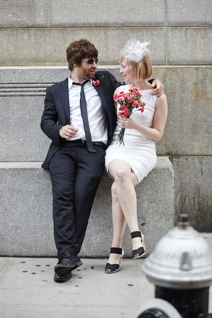 wedding ceremony new york city%0A Photographed by Winnie Au