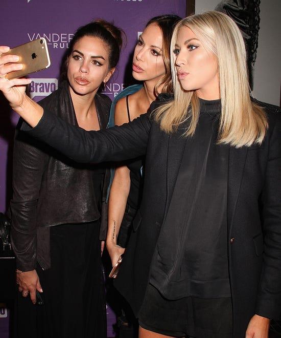 Celebrity photo bombs regular people