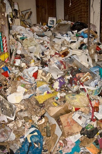 disgusting pictures of a hoarders nyc apartment
