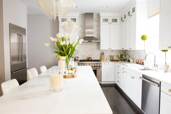 35 Fresh White Kitchen Cabinets Ideas To Brighten Your: 10 Ways To Brighten Up Your Kitchen