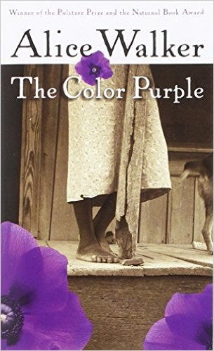 the lynching of celies father in the color purple by alice walker Black women then experienced the double oppression that alice walker explores in the novel lynching, murder by a mob, was prevalent in the south from the 1880s to the 1930s which character's real father had been lynched in the 1900s because he had established a business that competed with white businesses.