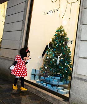 Minnie Mouse Lanvin Alber Elbaz Paris Disneyland