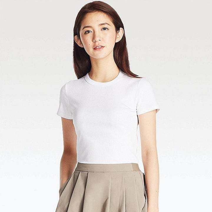 Best non see through white t shirt full coverage tees for White t shirts that aren t see through