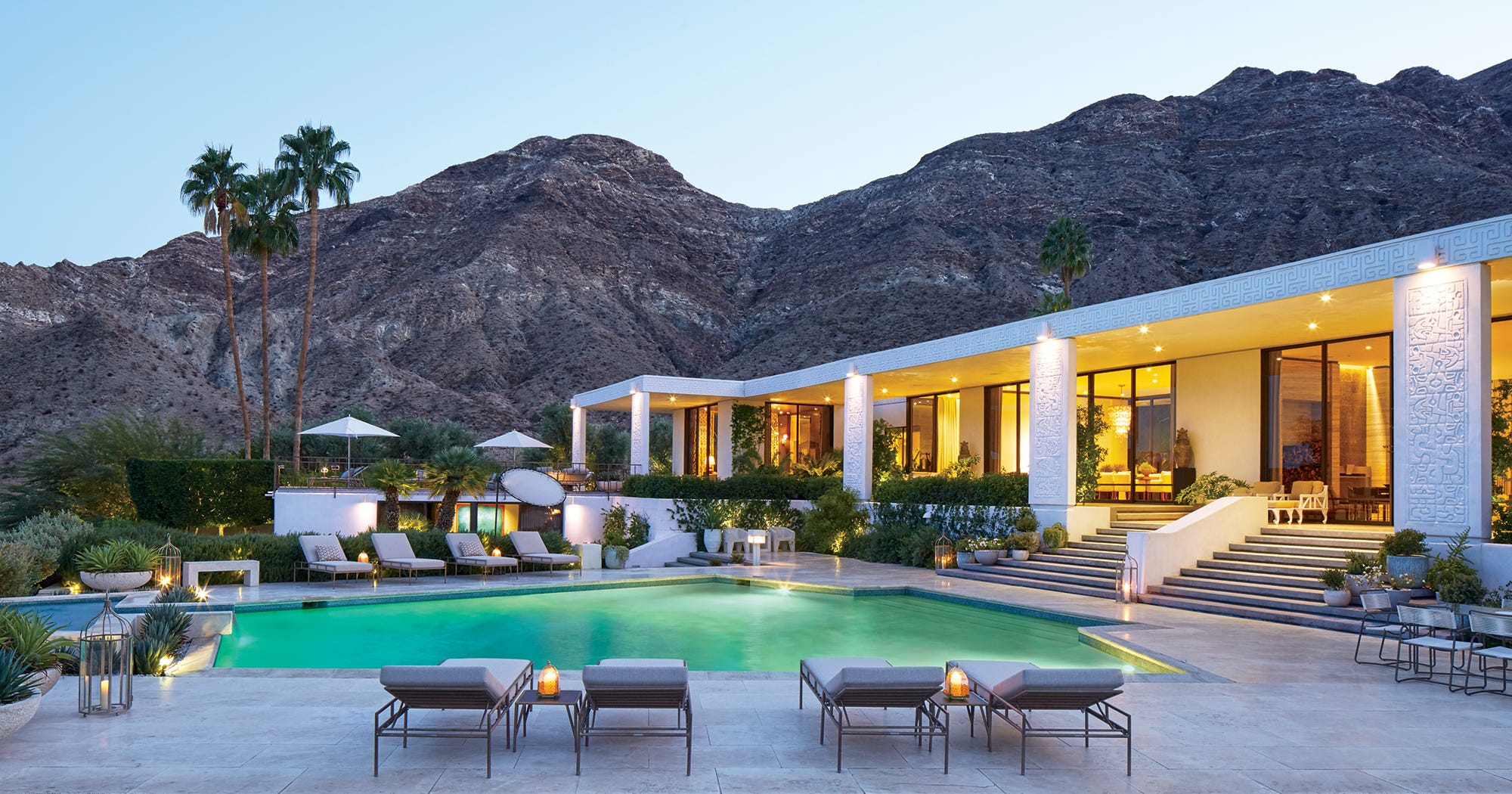 Obama Palm Springs Vacation House