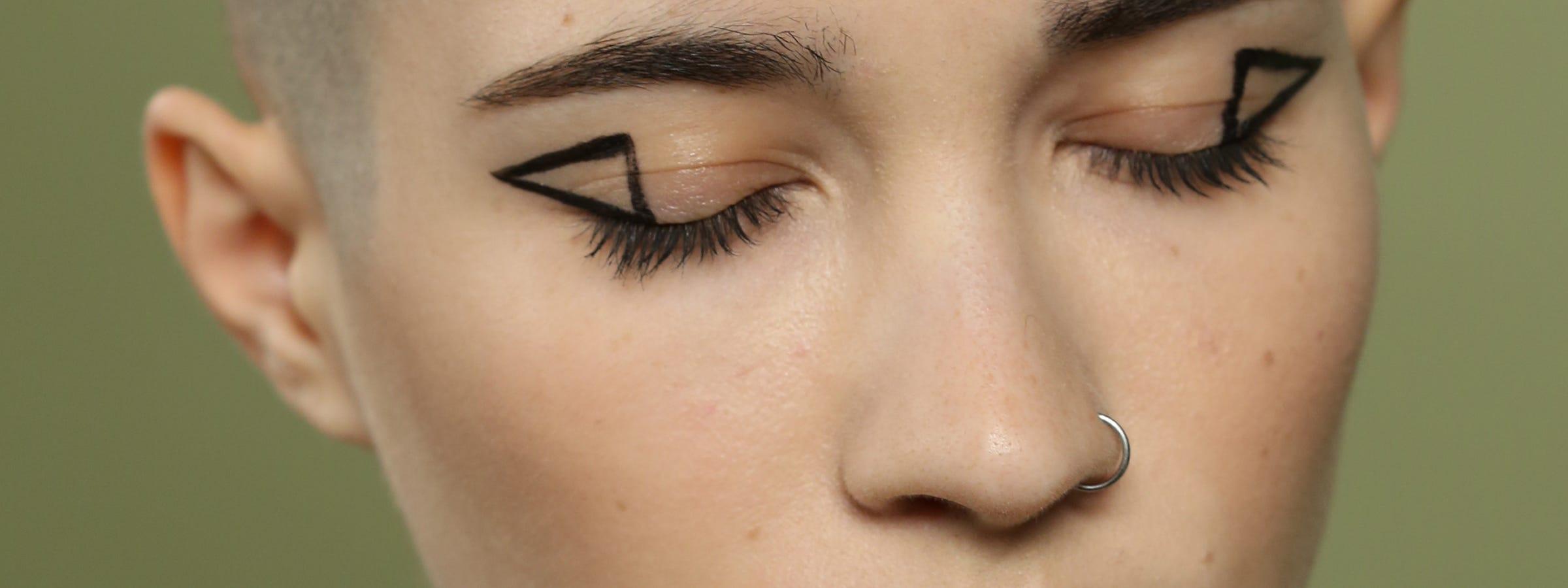 Subtle eye makeup