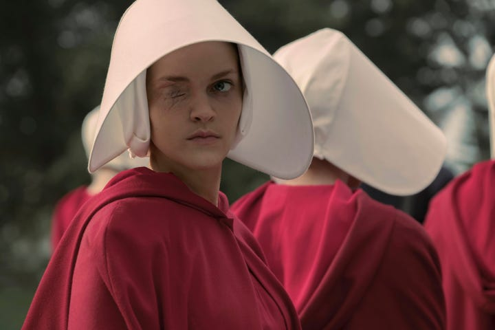 the character of offred in the handmaids tale by margaret atwood Everything you ever wanted to know about the characters in the handmaid's tale,  the handmaid's tale by margaret atwood home /  he knocks boots with offred, he .