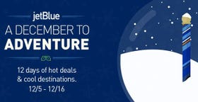 Jetblue december to adventure deals for Best vacation deals in december