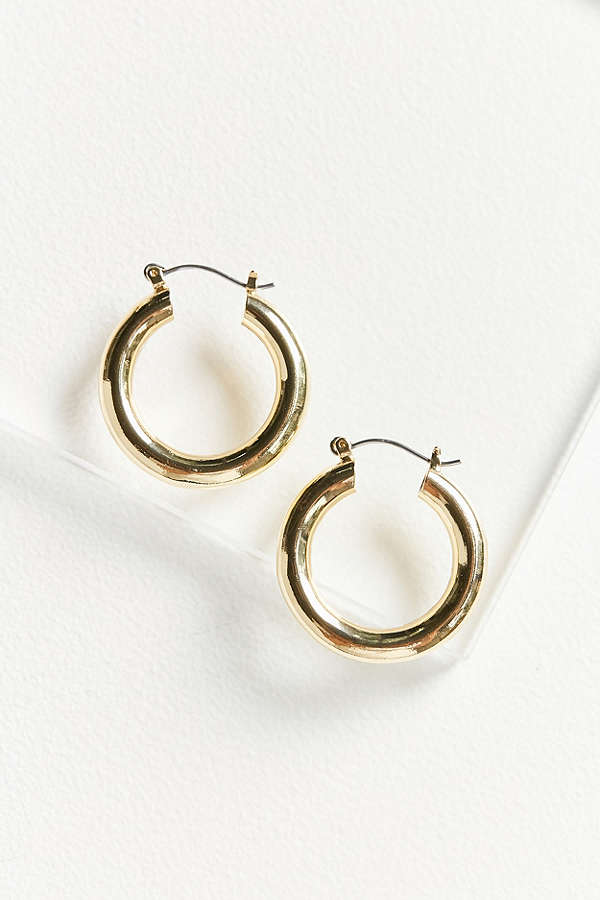 Small Hoop Earrings Gold Silver Topshop Madewell
