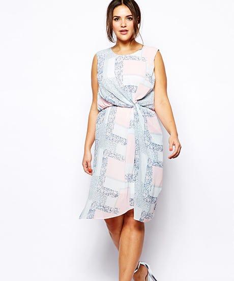 Plus size wedding guest dresses summer nuptials for Wedding guest dresses size 20