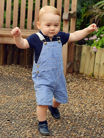 Prince George's First Birthday Photo Is Aww-Inducing