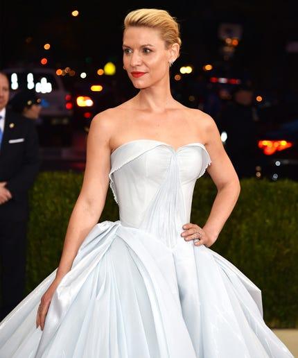 Claire Danes Zac Posen Illuminating Dress Met Gala 2016