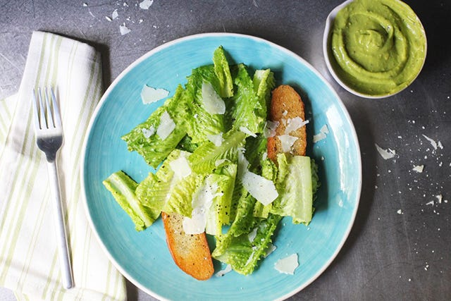 An Unexpected Twist On A Classic Ceasar Salad