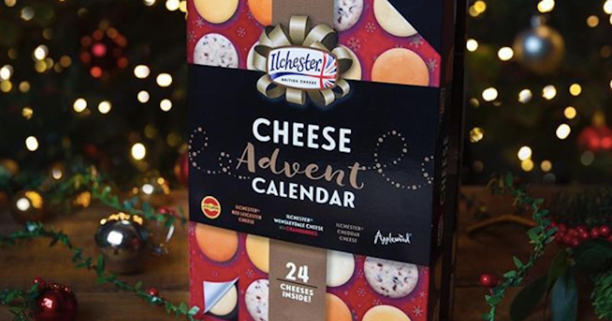 Cheese advent calendar countdown to christmas Where to buy cheese advent calendar