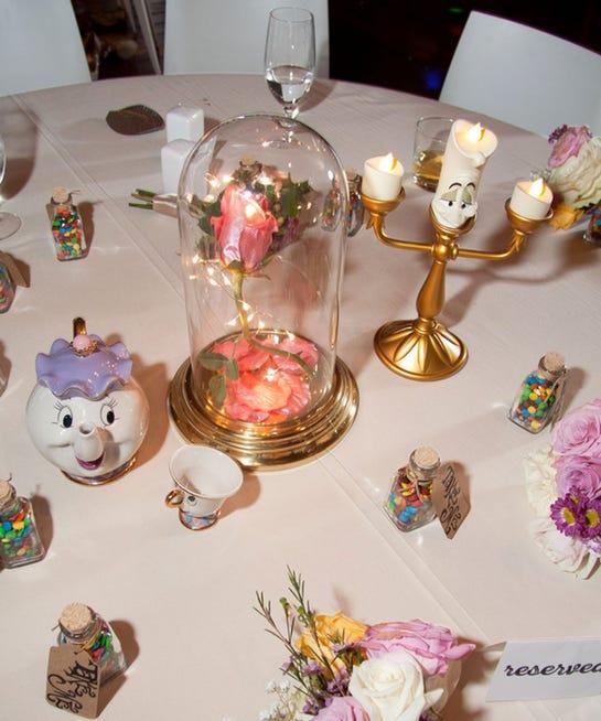 Diy Wedding Centerpieces: Disney DIY Wedding Reception Centerpieces