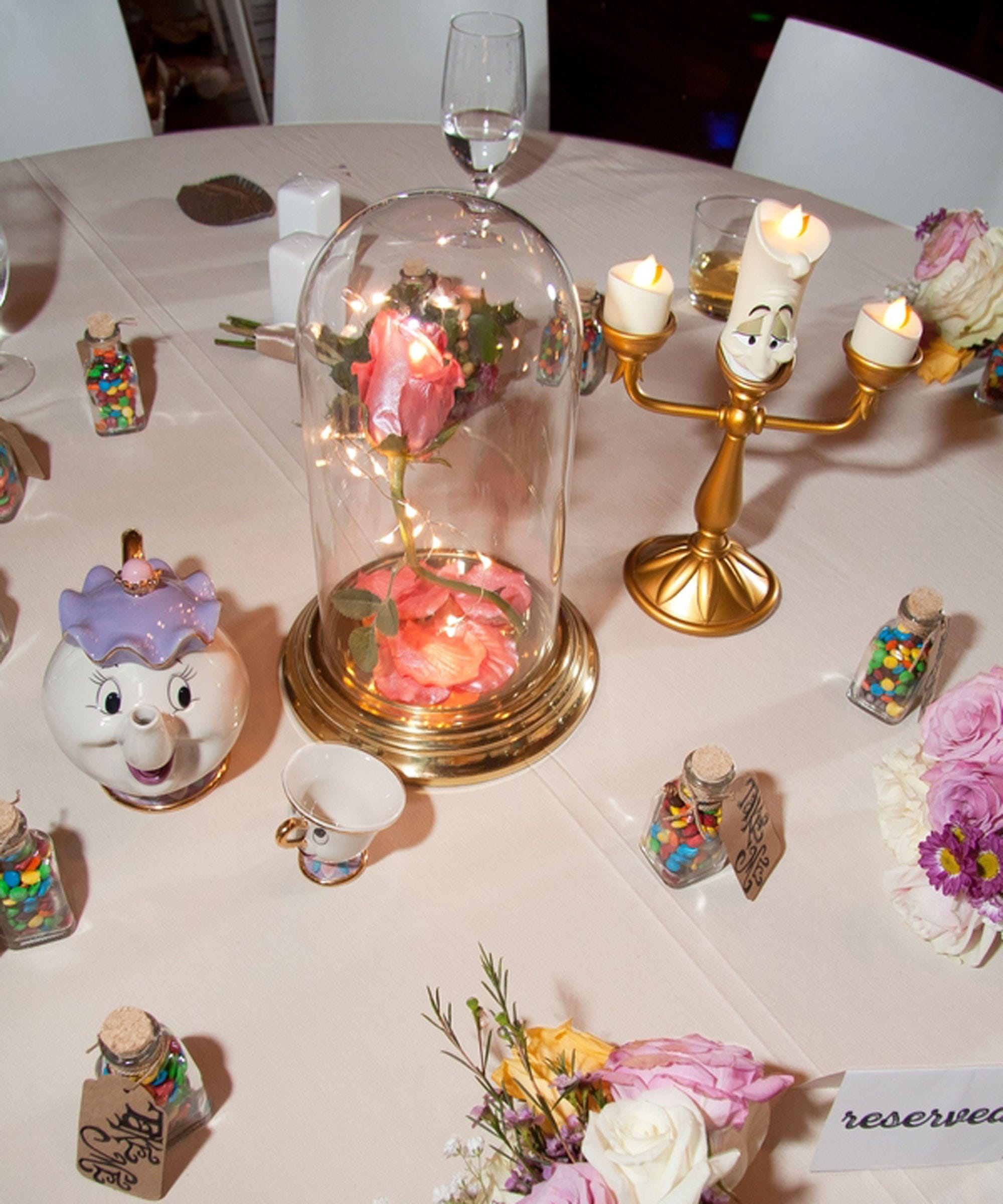 Diy Centerpieces For Weddings: Disney DIY Wedding Reception Centerpieces