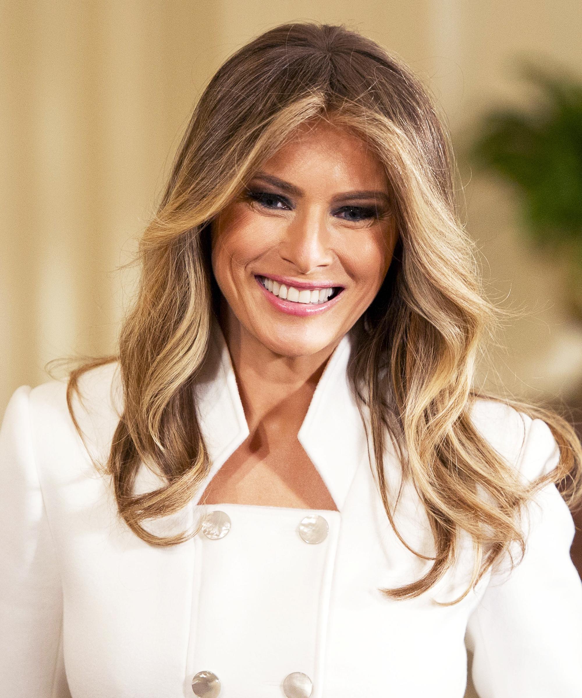 Melania Trump High Approval Ratings Poll CNN
