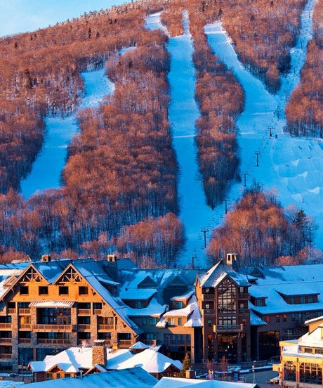 Winter vacations northeast united states getaways for Best winter weekend getaways