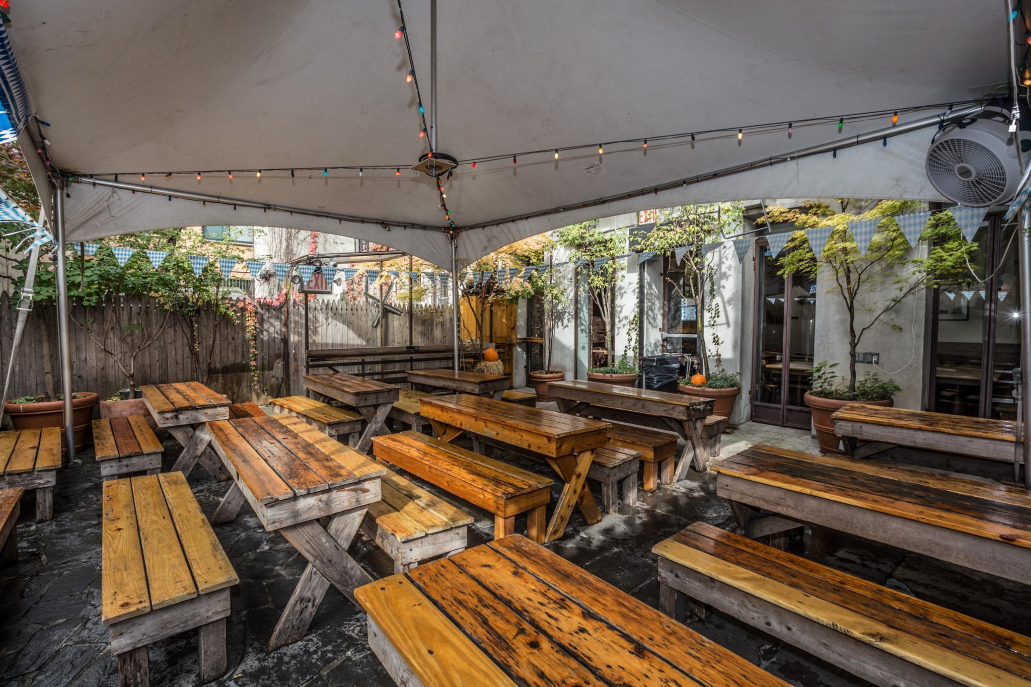 Kaitlin Menza Best Biergarten Nyc Beer Gardens In New York
