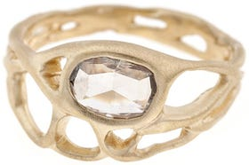 Unexpected, Fashion Forward Rings Unconventional Bride