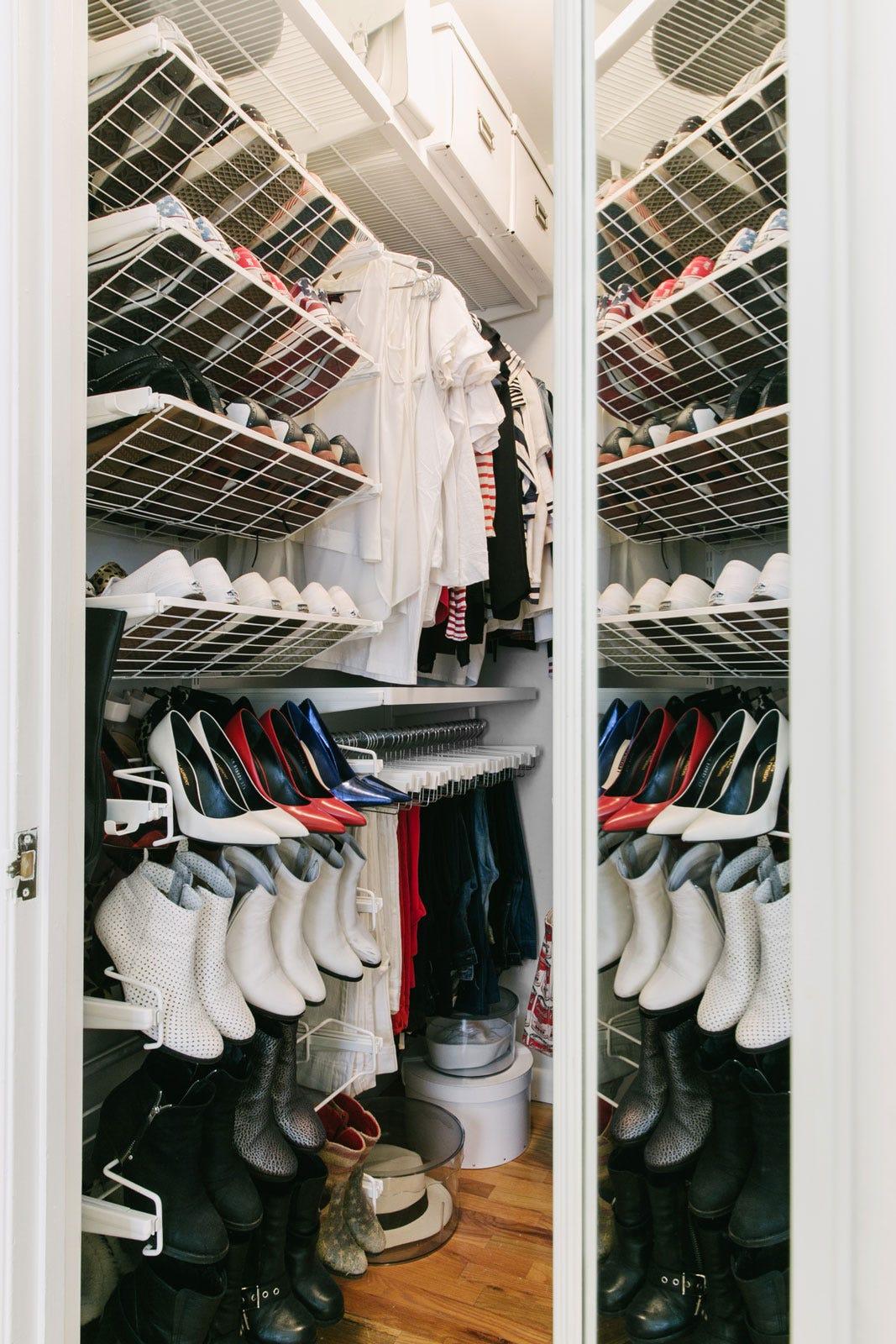 Small Closet Storage Organization Ideas
