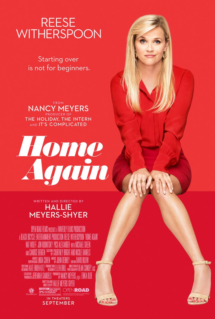 Home Again Poster Rees... Reese Witherspoon Daughter