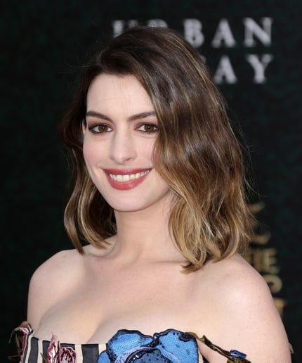 Anne Hathaway First Kiss Disney Animated Movie